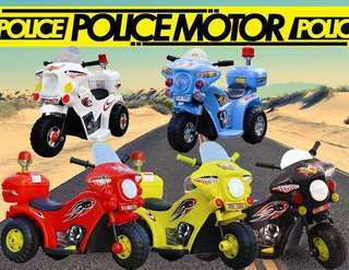 POLICE MOTOR