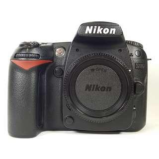Nikon D90     機身 盒裝  背帶 充電器 光碟 說明書 原電*1  公 (NB003)