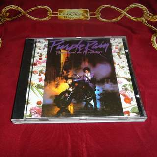 Prince And The Revolution ‎- Purple Rain 1984 Warner Bros. Pressing CD