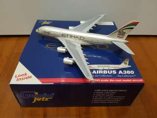 Ethihad Airplane Model ( diecast)