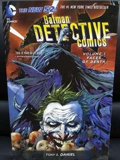 Batman detective comics - volume 1 faces of death