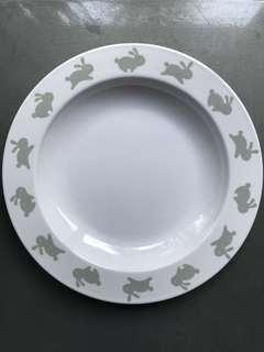 Bunny Skips Kids Plate