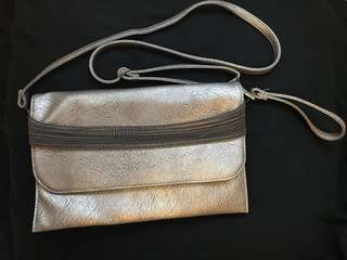 95%New Korea Handbag仿皮側揹或手拿