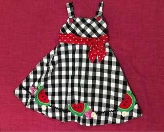 Checkered Sophie Rose Dress