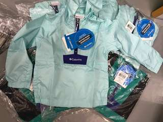 全新🛍 Columbia 正品 男女童風褸外套