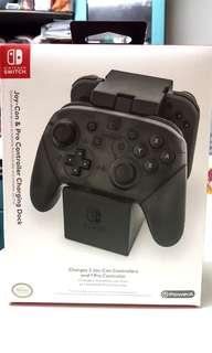 Nintendo Switch joy con and pro controller charging dock 充電器 叉電器 叉座