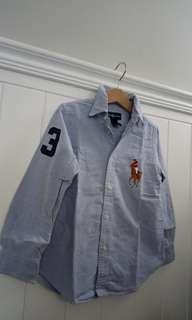 5Y男童Ralph Lauren大馬polo襯衫