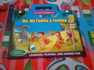1 Paket dapat 2 Buku - My First VocaBeeLary (Learning, Playing, Having Fun)