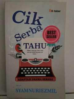 Malay Novel - Cik Serba Tahu (Syamnuriezmil)