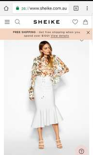 Sheike skirt. Worn once