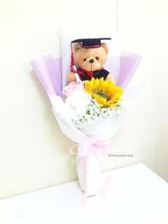 Silk Flower 🌼🌻 Sunny and Rosy Graduation