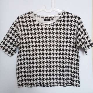 Patterned Top ( Blouse )