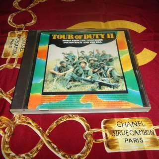 VA - Tour Of Duty II OST 1988 Pressing CD