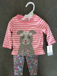 Girls Carter's Outfit, 3m