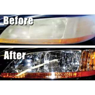 HEADLIGHT POLISHING CARS & VANS