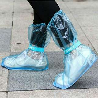 Waterproof rain boots shoe cover unisex