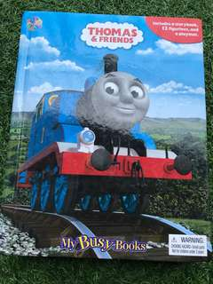 Thomas & Friends My Busy Books Figurine and Mar