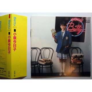 KYOKO KOIZUMI Betty 小泉今日子 CD ALBUM