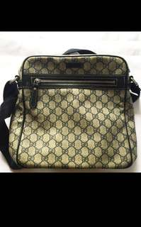 2nd Hand Authentic Gucci messenger Bag For Men