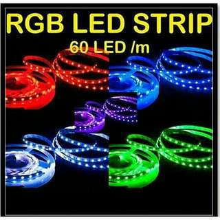 Led strip 5m 3528/5050/5630/6803/s shaped decor lightning accessories