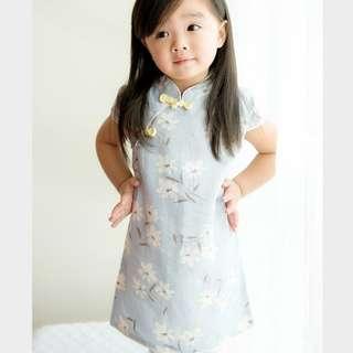 Baby Girl Cheongsam qipao for 2-3 years old