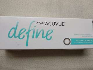 Softlens 1 Day Acuvue Define (Minus 1.50)