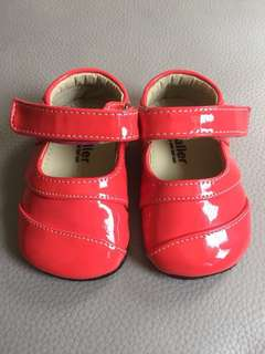 SMALLER by See Kai Run Pink Mary Jane Baby Shoes