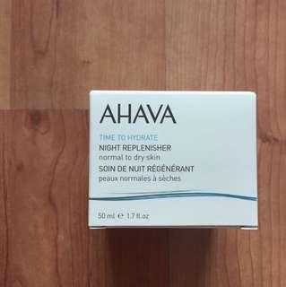 AHAVA Night Replenisher Normal to Dry Skin