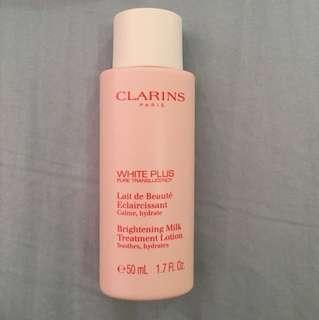 Clarins white plus brightening milk treatment lotion