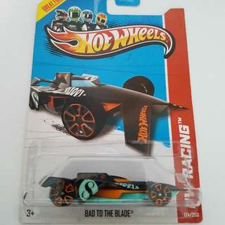 Hotwheels Bad to the Blade