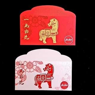 2014 Air Asia Red Packet *horse zodiac