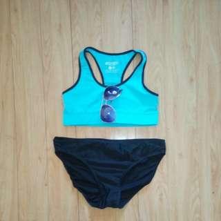 Ariana grande sports bra and bottom bundle
