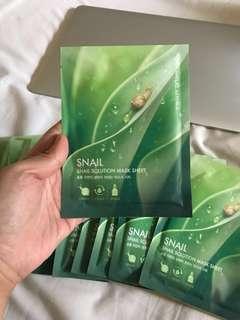 Nature Republic Snail Solution Mask Sheet