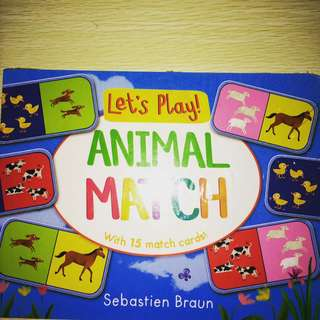 Let's Play Animal Match Book