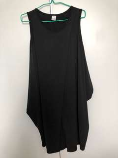 Black maternity dress (size M)