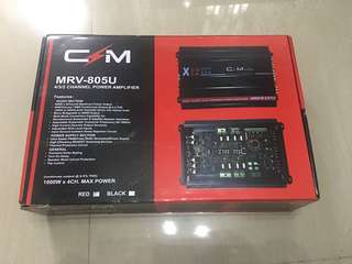 X12 Car Amplifier