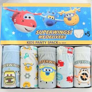 Boy Underwear - Super wings (Korea Brand)
