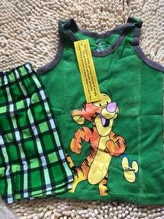BN pj sleeveless set home wear for boy 4-6yrs old