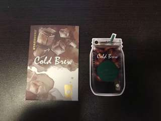 Starbucks China cold brew card 2018