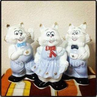 Sale - Vintage CR Bunny Porcelain Coin Bank