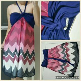 Beach halter dress