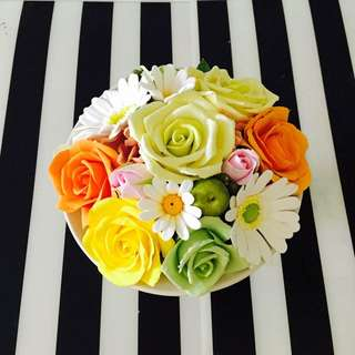 Mother's Day Special (clay Flower Vase Arrangement)