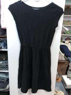 Dorothy Perkins Short Black Dress - Preloved, Excellent Condition
