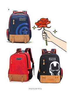Ironman bagpack for kids