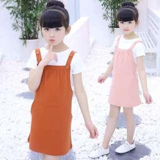 APR 18 2 IN 1 KIDS DRESS (DYG)