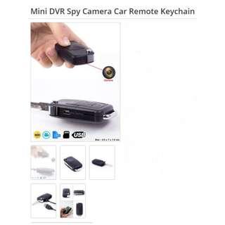 Mini DVR Spy Camera Car Remote Keychain