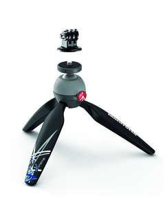 (NEW & AUTHENTIC) Manfrotto Mini Tripod with GoPro Adaptor