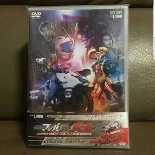[SALE]DVD Drive Saga Kamen Masked Rider Mach/Kamen Rider Heart Shift Ride Crosser/Shift Heartron Edition