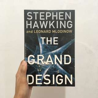 The Grand Design by Stephen Hawking (international edition)