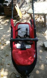 Stroller three wheels